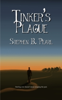 Tinker's Plague book cover - post apocalyptic, science fiction novel
